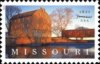 [The 200th Anniversary of the Statehood of Missouri, type INZ]