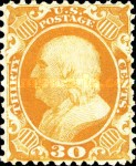 [Reprints of 1857-1860 Issues - White Paper without Gum, type J1]