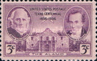 [The 100th Anniversary of the State of Texas, Typ JN]