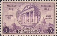 [The 100th Anniversary of Arkansas Statehood, Typ JP]