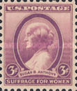 [The 30th Anniversary of the Death of Susan B. Anthony, 1820-1906, Typ JR]