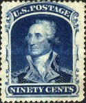 [George Washington, 1732-1799, Typ K]