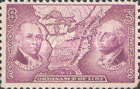 [The 150th Anniversary of the Northwest Territory Ordinance, Typ KD]