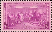 [The 150th Anniversary of the Constitution, Typ KF]