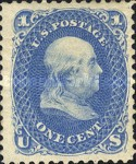 [Re-Issue of 1861-1866 Issues - Hard White Paper. White Crackly Gum, Typ L6]
