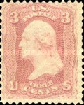 [George Washington, 1732-1799, Typ M]