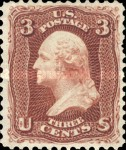 [Re-Issue of 1861-1866 Issues - Hard White Paper. White Crackly Gum, Typ M12]