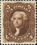 [Re-Issue of 1861-1866 Issues - Hard White Paper. White Crackly Gum, Typ N9]