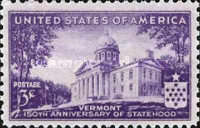 [The 150th Anniversary of Vermont Statehood, type NT]