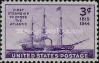 [The 125th Anniversary of the First Steamship Crossing the Atlantic, type ON]