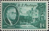 [Franklin D.Roosevelt issue, Typ OU]