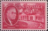 [Franklin D.Roosevelt issue, Typ OV]