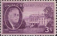 [Franklin D.Roosevelt issue, Typ OW]