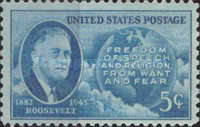 [Franklin D.Roosevelt issue, Typ OX]