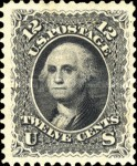 [Re-Issue of 1861-1866 Issues - Hard White Paper. White Crackly Gum, Typ P5]
