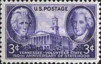 [The 150th Anniversary of Tennessee Statehood, Typ PF]