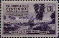 [The 100th Anniversary of the California Gold Rush, Typ PS]