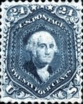 [George Washington, 1732-1799, Typ Q8]