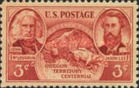 [The 100th Anniversary of the Oregon Territory, Typ QC]