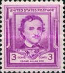 [The 100th Anniversary of the eath of Edgar Allan Poe, Typ QY]