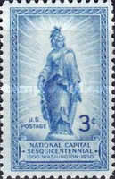 [The 150th Anniversary of the National Capitol, type RB]
