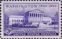 [The 150th Anniversary of the National Capitol, type RD]