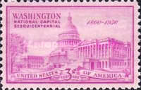 [The 150th Anniversary of the National Capitol, type RE]