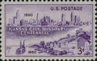 [The 100th Anniversary of Kansas City, Missouri, Typ RG]