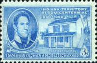 [The 150th Anniversary of Indiana Territory, type RI]
