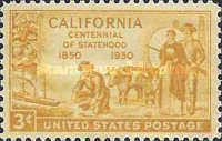 [The 100th Anniversary of California Statehood, Typ RJ]