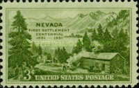 [The 100th Anniversary of the First Nevada Settlement, type RL]