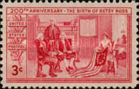 [The 200th Anniversary of The Birth of Betsy Ross, 1860-1932, Typ RQ]