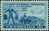 [The 50th Anniversary of the American Automobile Association, Typ RT]