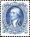[Re-Issue of 1861-1866 Issues - Hard White Paper. White Crackly Gum, Typ S4]