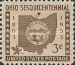 [The 150th Anniversary of Ohio Statehood, type SE]
