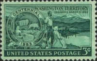 [The 100th Anniversary of Washington Territory, Typ SF]
