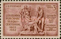 [The 150th Anniversary of the Louisiana Purchase, Typ SG]