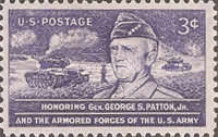 [Honoring General George S. Patton Jr, 1885-1945, type SM]