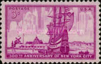 [The 300th Anniversary of New York City, Typ SN]