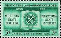 [The 100th Anniversary of the Land Grant Colleges, Typ TW]