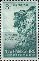 [New Hampshire - The Old Man of the Mountains, Typ TZ]