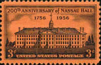 [The 200th Anniversary of Nassau Hall, Princeton University, Typ UO]