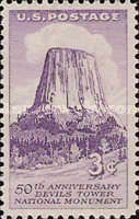 [Devils Tower National Monument, Typ UP]