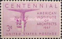 [The 100th Anniversary of the American Institute of Architects, Typ UU]