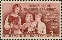 [The 100th Anniversary of National Education Association, Typ UY]