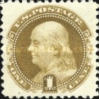 [American Bank Note Company Special Printing - Soft Porous Paper without Gum, type V4]