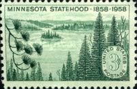 [The 100th Anniversary of Minnesota Statehood, type VI]