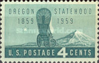 [The 100th Anniversary of Oregon Statehood, type WA]