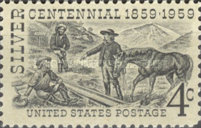 [The 100th Anniversary of Discovery of Silver at Comstock Lode, Nevada, Typ WG]