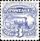 [Re-Issue of 1869 Issues - Hard White Paper. White Crackly Gum, Typ X2]
